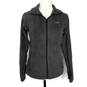 Columbia Gray Benton Springs Full Zip Fleece XS